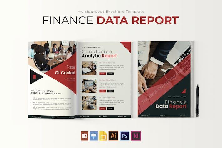 Thumbnail for Finance Data | Report