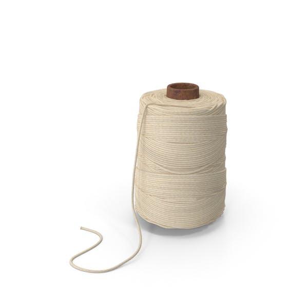 Bobina de cordel de algodón