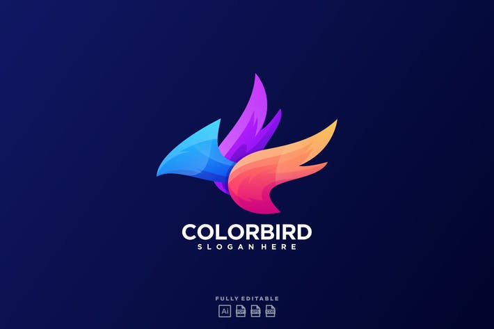 Thumbnail for Color Bird  Logo
