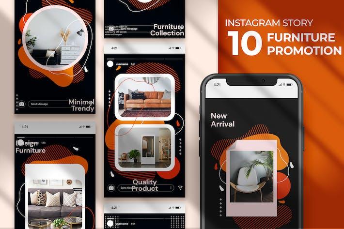 Instagram Story - Furniture Promotion