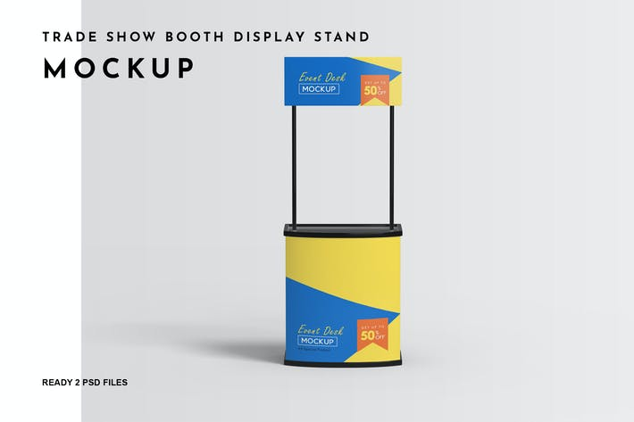 Thumbnail for Trade Show Booth Display Stand Mockup