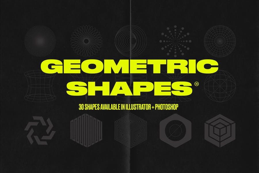 Modern & Abstract Geometric Shapes