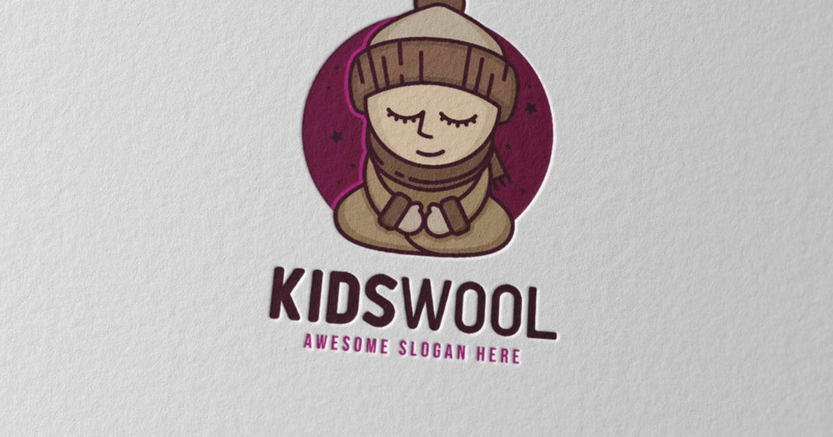 Kidswool Logo by Scredeck