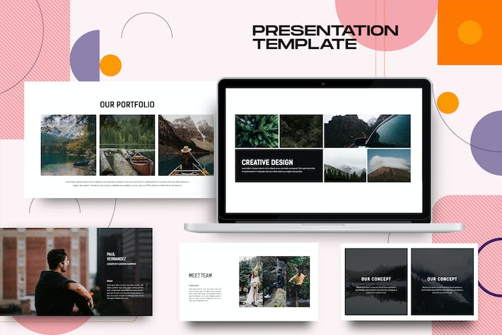 Thumbnail for Cheetah - Business Powerpoint Template