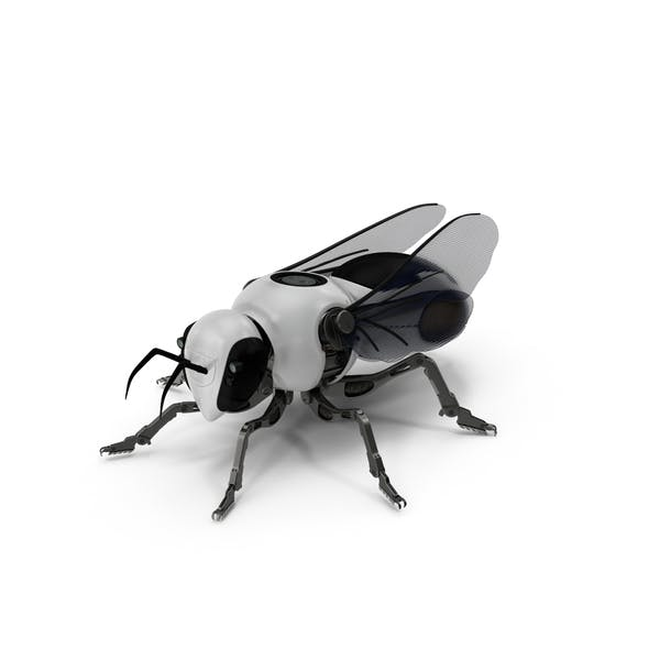 Cover Image for Sci-fi Robotic Bee