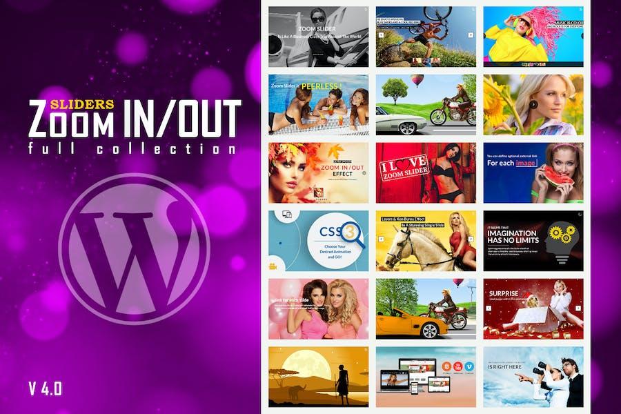 Responsivo Zoom In/Out Slider Plugin WordPress