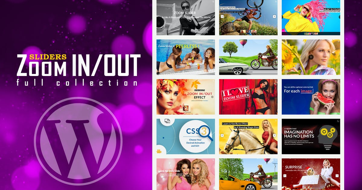 Responsive Zoom In/Out Slider WordPress Plugin by