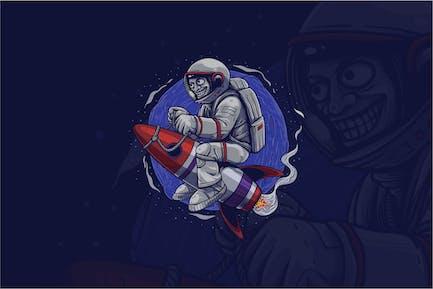 Astronaut Tshirt Graphic