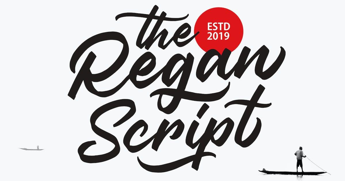 Download Regan Script by graptailtype