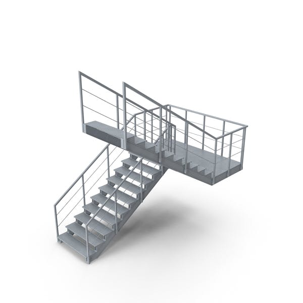 Thumbnail for Industrial Staircase