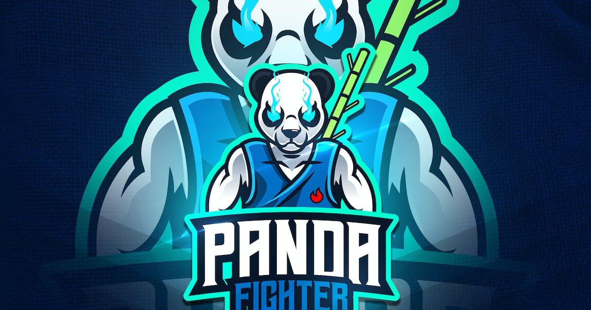 Download Panda Fighter - Mascot & Esport Logo by aqrstudio