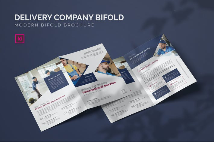 Thumbnail for Delivery Company - Bifold Brochure