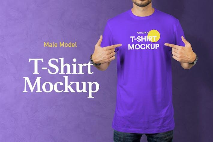 Thumbnail for T-Shirt Mockup 18