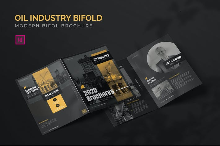 Thumbnail for Oil Industry - Bifold Brochure