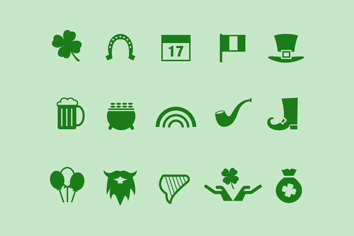 Thumbnail for 15 St Patrick's Day Icons
