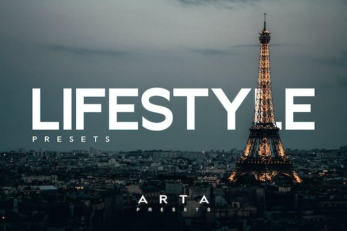 Пресеты ARTA Lifestyle для мобильных и настольных ПК