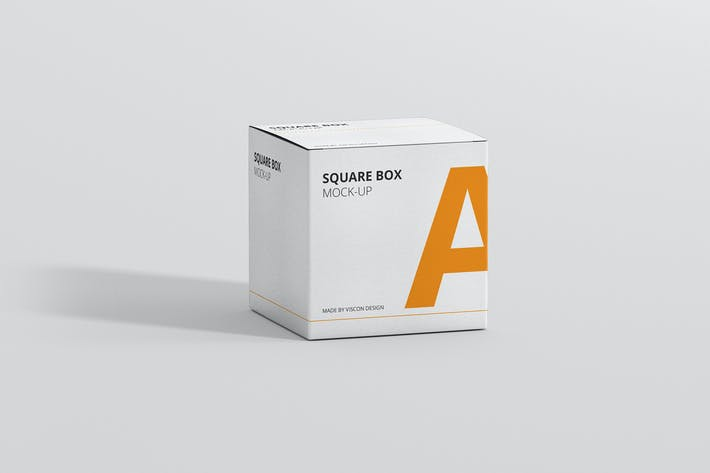 Thumbnail for Package Box Mock-Up - Square