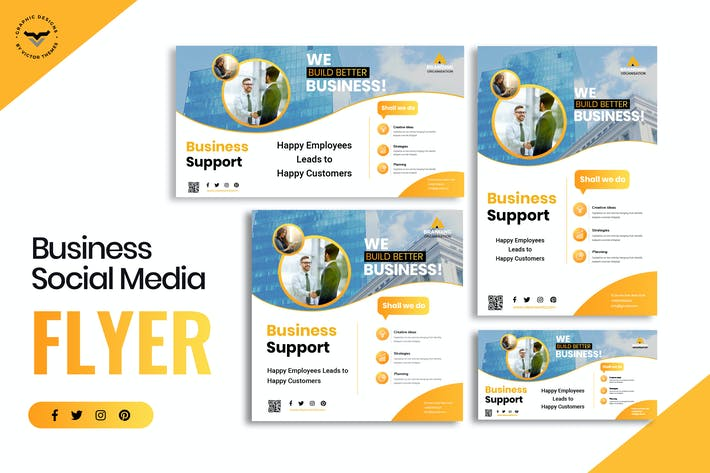 Thumbnail for Business Social Media Template