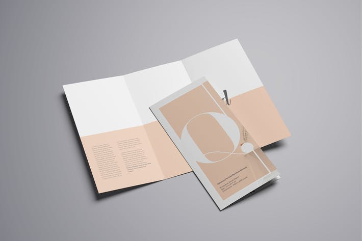Thumbnail for Trifold Brochure Mockup