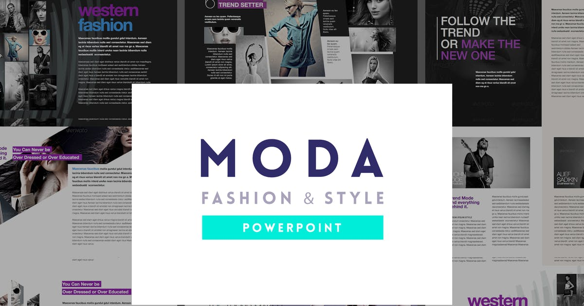 Download Moda - Fashion & Style Powerpoint Template by Unknow