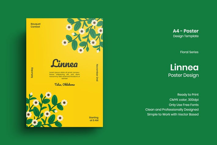 Thumbnail for Linnea Poster Design
