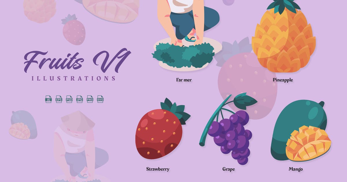 Download Fruits V1 - Illustrations by ilhamtaro