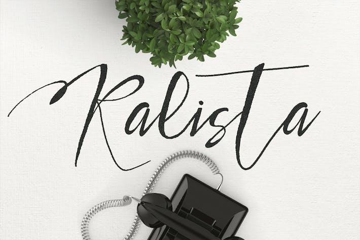 Thumbnail for Kalista Typeface