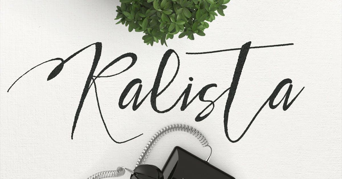 Download Kalista Typeface by maulanacreative