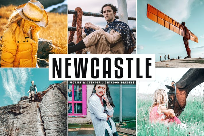 Thumbnail for Newcastle Mobile & Desktop Lightroom Presets