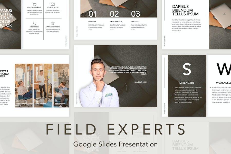 Field Experts Google Slides