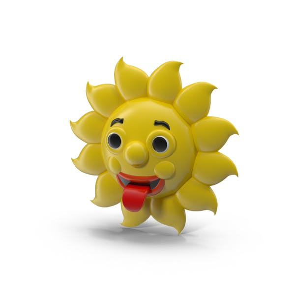 Thumbnail for Cartoon Sun Character