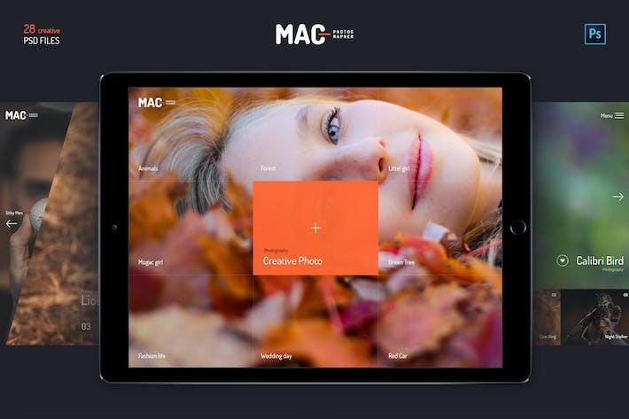 Thumbnail for MAC Photographer PSD Templates