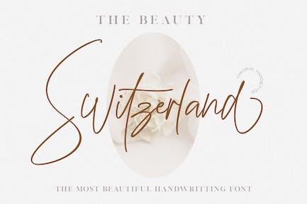 Beauty Switzerland Wedding Font