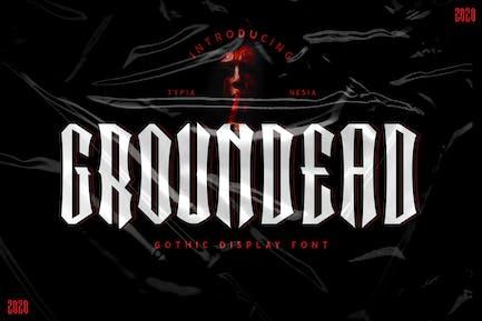Groundead - Fuente gótica