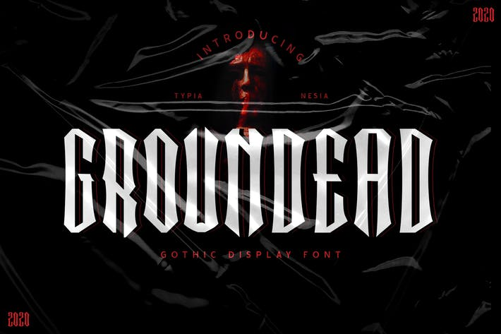 Thumbnail for Groundead - Police gothique