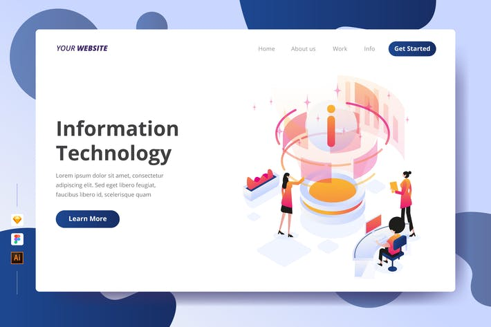 Thumbnail for Information Technology - Landing Page