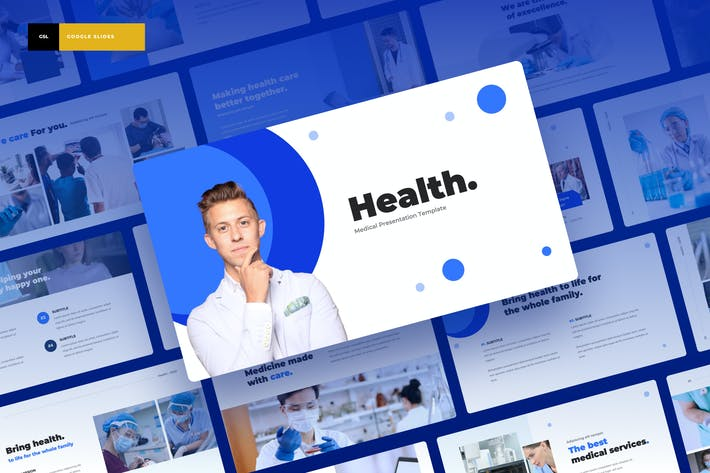 Health - Medical Google Slides Presentation