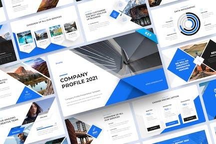 Iprofile - Company Profile Keynote Template