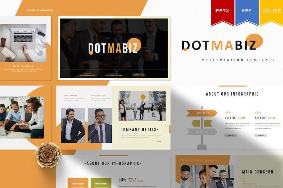 Dotmabiz | Powerpoint, Keynote, Googleslides