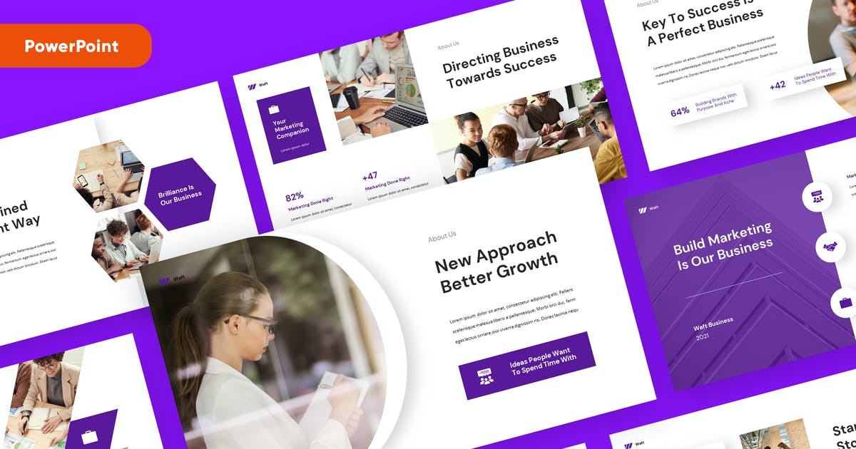 Download Business Marketing Powerpoint Template by rgbryand
