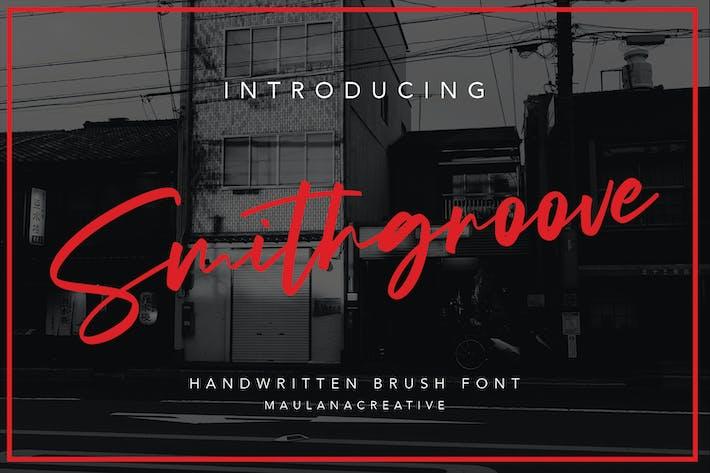 Thumbnail for Smithgroove - Fuente de pincel escrito a mano