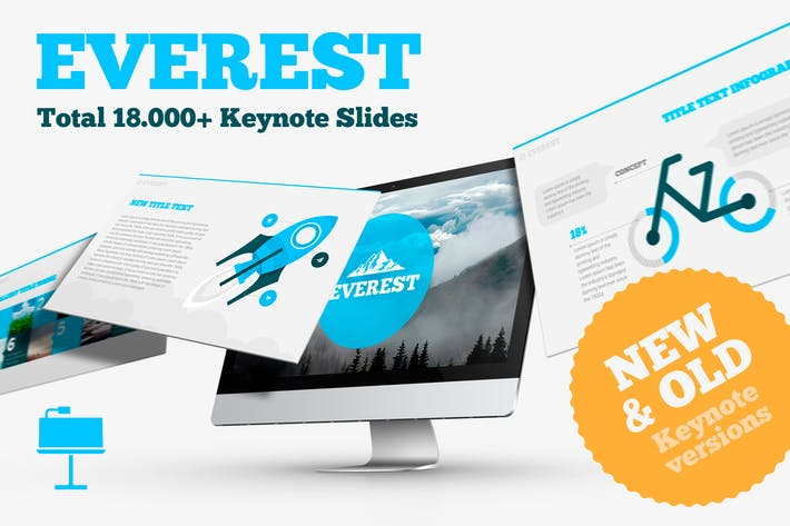 Thumbnail for Everest Business Keynote Template
