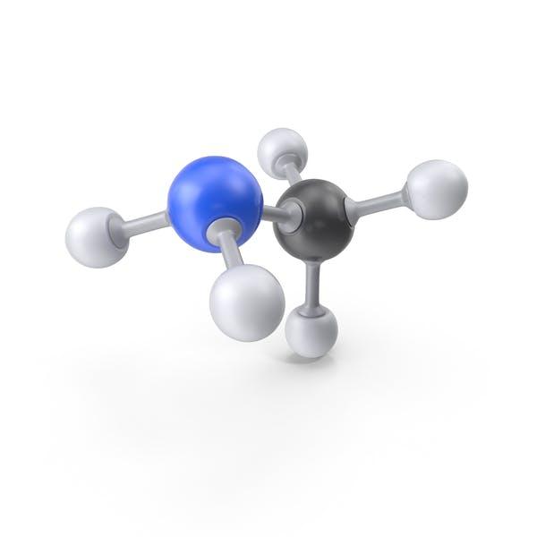 Cover Image for Methylamine Molecule