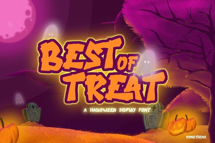 Thumbnail for Lo mejor del trato - Halloween Typeface VW