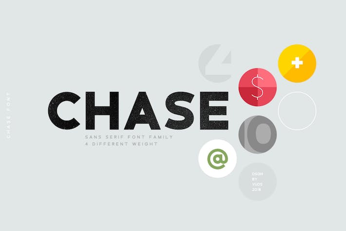Thumbnail for Семейство шрифтов Chase
