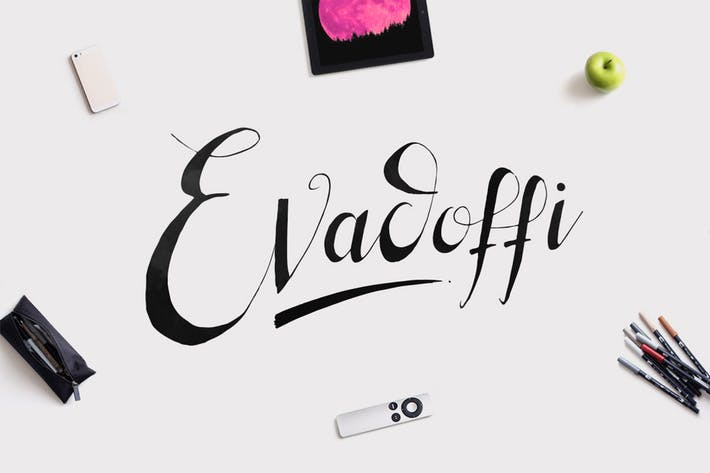 Thumbnail for Evadoffi Typeface