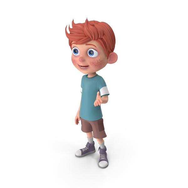 Cartoon Boy Charlie Talking