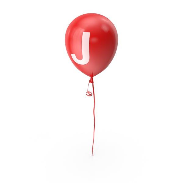 Thumbnail for Letter J Balloon