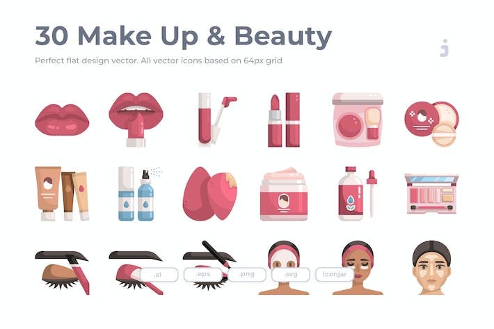 Thumbnail for 30 Make Up & Beauty - Flat