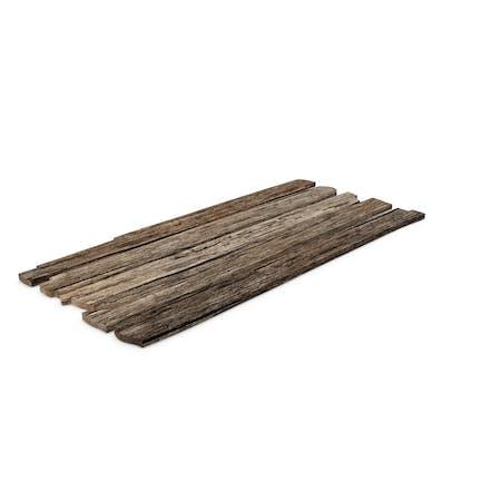 Tablas de madera vieja